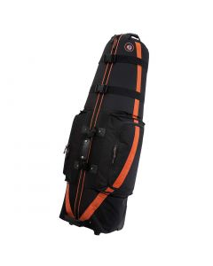 Golf Travel Bags Medallion 6.0 Travel Bag Black/Orange