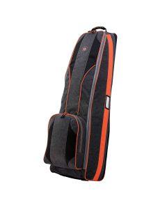 Golf Travel Bags 2018 Viking 4.0 Travel Bag Heather/Orange