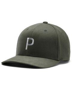 Headwear Puma X P Snapback Hat Deep Lichen Green