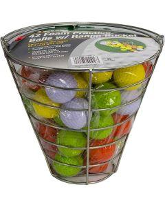 Jef World Of Golf Foam Practice Balls In Bucket