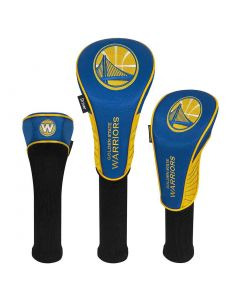 McArthur Sports NBA Set of 3 Headcovers Golden State Warriors