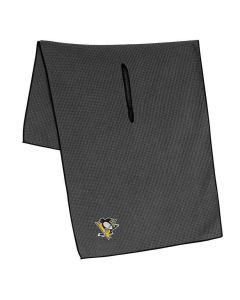 McArthur Sports NHL Grey Microfiber Towel Pittsburgh Penguins