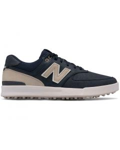 New Balance 574 Greens Golf Shoes Navy Profile