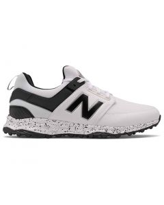 New Balance Fresh Foam Links Sl Golf Shoes White Black Profile