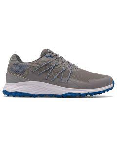 New Balance Fresh Foam Pace Sl Golf Shoes Grey Blue Profile