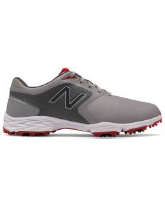 New Balance Striker V2 Golf Shoes Grey Red Profile