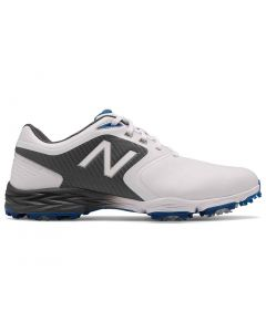 New Balance Striker V2 Golf Shoes White Grey Profile