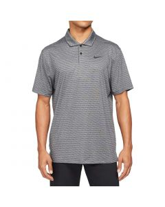 Nike 2020 Dri Fit Vapor Stripe Polo Dark Smoke Grey
