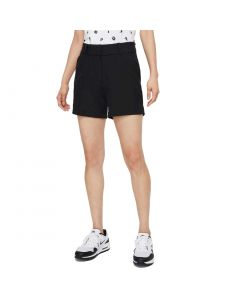 Nike Womens Dri Fit Victory Inch Shorts Black Front
