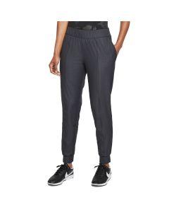 Nike Womens Gingham Jogger Black