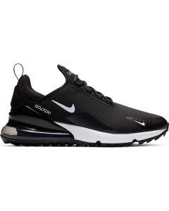 Nike Air Max 270 G Golf Shoes Black White Profile