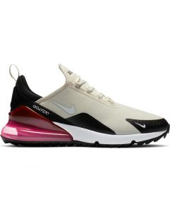 Nike Air Max 270 G Golf Shoes Light Bone Black Profile
