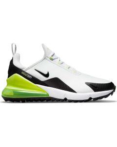 Nike Air Max 270 G Golf Shoes White Black Volt Profile