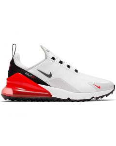 Nike Air Max 270 G Golf Shoes White Cool Grey Profile