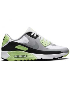 Nike Air Max 90 G Golf Shoes White Particle Grey Profile
