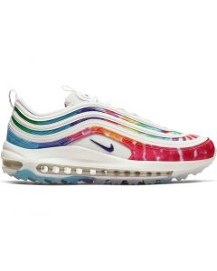 Nike Air Max 97 G Golf Shoes White Profile