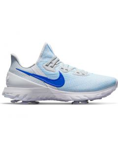 Nike Air Zoom Infinity Tour Golf Shoes Racer Blue White Profile