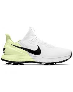 Nike Air Zoom Infinity Tour Golf Shoes White Black Barely Volt Profile