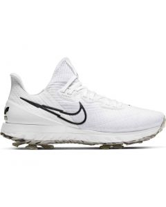 Nike Air Zoom Infinity Tour Golf Shoes White Black Platinum Profile