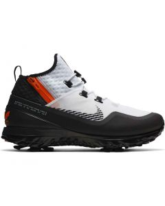 Nike Air Zoom Infinity Tour Shield Golf Shoes White/Black/Orange