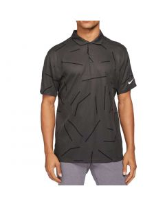 Nike Dri Fit Tiger Woods Polo Dark Smoke Grey