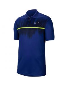 Nike Dri-FIT Vapor Fog Print Polo Deep Royal