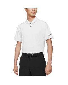 Nike Dri Fit Vapor Jacquard Polo White