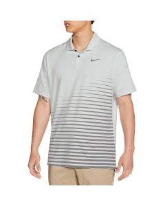 Nike Dri Fit Vapor Stripe Graphic Polo Photon Dust