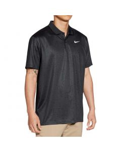 Nike Dri Fit Victory Print Polo Dark Smoke Grey