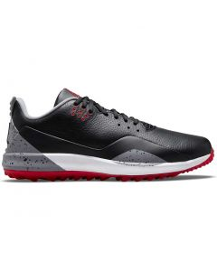 Nike Jordan Adg 3 Golf Shoes Black Fire Profile