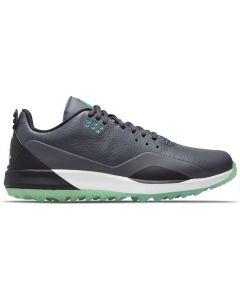 Nike Jordan Adg 3 Golf Shoes Dark Grey Green Glow Profile