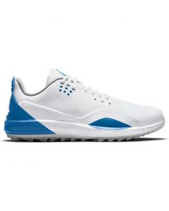 Nike Jordan Adg 3 Golf Shoes White Military Blue Profile