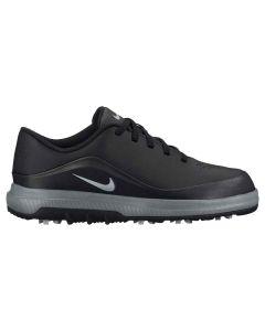 Nike Juniors Precision Golf Shoes Black/Metallic Silver
