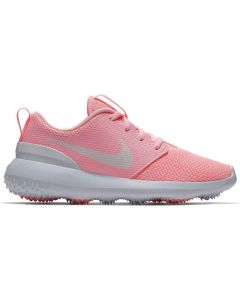 Nike Juniors Roshe G Golf Shoes Arctic Pink/White