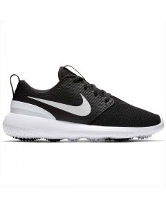 Nike Juniors Roshe G Golf Shoes Black/White