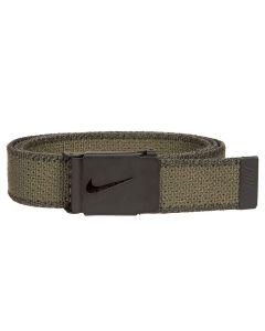 Nike Knit Web Belt Olive