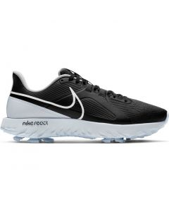 Nike React Infinity Pro Golf Shoes Black White Metallic Profile
