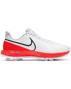 Nike React Infinity Pro Golf Shoes White Black Infrared Profile