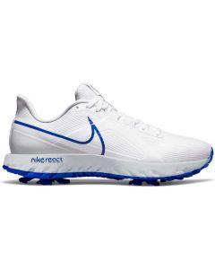Nike React Infinity Pro Golf Shoes White Racer Blue Profile