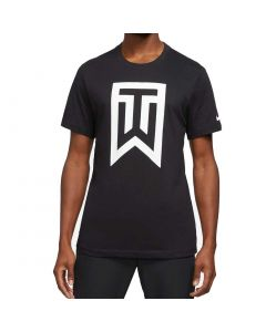 Nike Tiger Woods Logo Tee Black