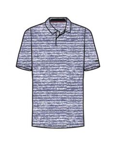 Nike TW Dri-FIT Vapor Stripe Polo Purple Slate