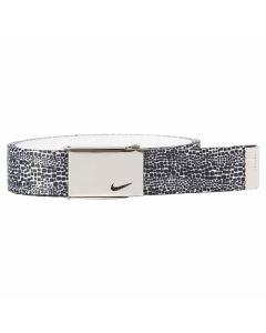 Nike Women's Lurex Single Web Belt Black/White