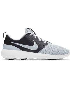 Nike Womens Roshe G Golf Shoes Pure Platinum Black White Profile