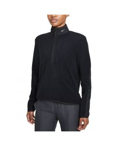 Nike Womens Therma Fit Half Zip Black Front