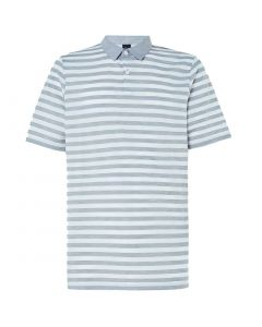 Oakley Aero Striped Polo Fog Grey