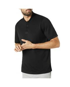 Oakley Bomber Collar Polo Black