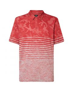 Oakley Camo Stripes Polo Poppy