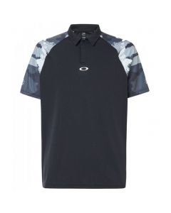 Oakley Chipshot Camo Polo_blackout