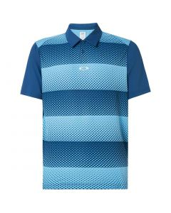 Oakley Dot Stripes Polo Blue