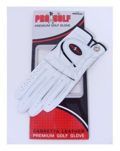 Pro Golf Women's Cabretta Leather Golf Glove
